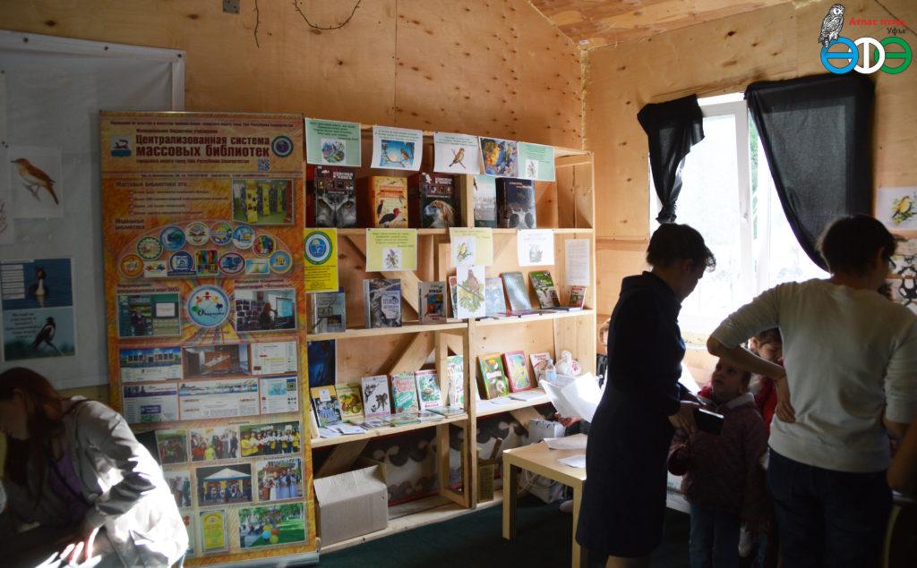 Выставка книг о птицах