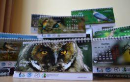 Календари с птицами Уфы от фотохудожников и участников проекта