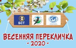Итоги акции «Весенняя перекличка-2020» в Башкирии